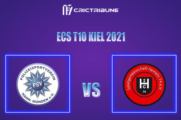 PSV vs SGH Live Score,In theMatchof ECS T10 Kiel 2021which will be played at Kiel Cricket Ground, Kiel. PSV vs SGH Live Score,Match between PSV Hann-Munden
