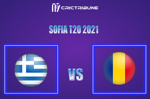 ROM vs GRE Live Score,In theMatchof Sofia T20 2021which will be played at National Sports Academy, Sofia.. ROM vs GRE Live Score,Match between Romania vs..