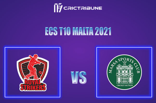 RST vs MAR Live Score,In theMatchof ECS T10 Malta 2021which will be played at Marsa Sports Club, Malta.. RST vs MAR Live Score,Match between Royal Strikers
