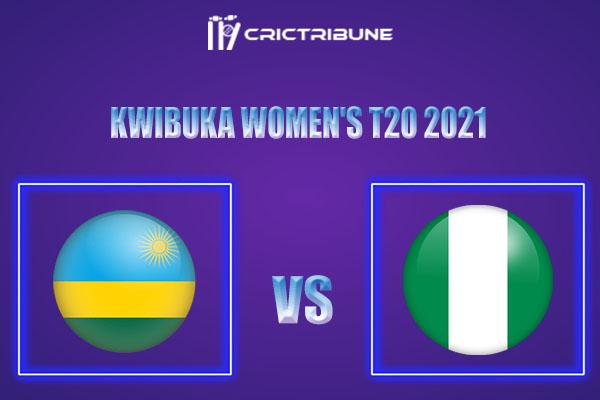 NIG-W vs RWA-W Live Score,In theMatchof Kwibuka Women's T20 2021which will be played at Gahanga International Cricket Stadium, Rwanda. NIG-W vs RWA-WLive..