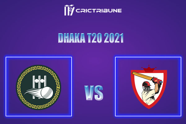 SCC vs GGC Live Score,In theMatchof Dhaka T20 2021which will be played at BKSP-4, Dhaka. SCC vs GGC Live Score,Match between Shinepukur Cricket Club.......