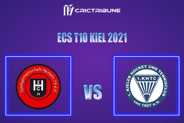 SGH vs KHTC Live Score,In theMatchof ECS T10 Kiel 2021which will be played at Kiel Cricket Ground, Kiel. SGH vs KHTC Live Score,Match between SG Hameln....