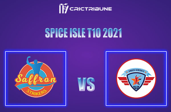SS vs GG Live Score,In theMatchof Spice Isle T10 2021which will be played at National Cricket Stadium, Grenada. SS vs GG Live Score,Match between Saffron..