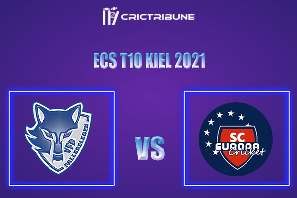 VFB vs SCE Live Score,In theMatchof ECS T10 Kiel 2021which will be played at Kiel Cricket Ground, Kiel. VFB vs SCE Live Score,Match between VfB............