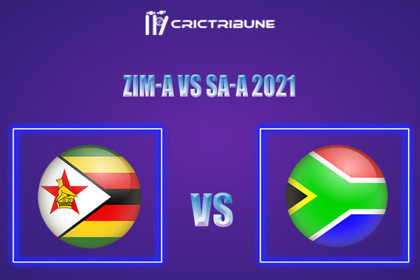 ZIM-A vs SA-A Live Score,In theMatchof South Africa A tour of Zimbabwe 2021which will be played at Harare Sports Club, Harare. ZIM-A vs SA-A Live Score.....