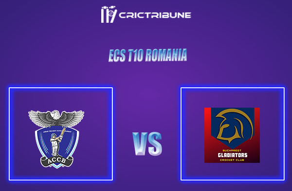 ACCB vs BUG Live Score,In theMatchof ECS T10 Romania 2021which will be played at Moara Vlasiei Cricket Ground, Ilfov County, Bucharest... ACCB vs BUG Liv...