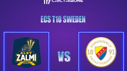 DIF vs ALZ Live Score,In theMatchof ECS T10 Sweden 2021which will be played at Norsborg Cricket Ground, Stockholm. DIF vs ALZ Live Score,Match between .....
