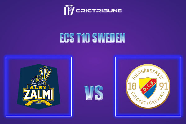 ALZ vs DIF Live Score,In theMatchof ECS T10 Sweden 2021which will be played at Norsborg Cricket Ground, Stockholm. ALZ vs DIF Live Score,Match between.....