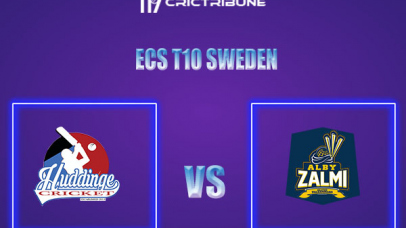 ALZ vs HUD Live Score,In theMatchof ECS T10 Sweden 2021which will be played at Norsborg Cricket Ground, Stockholm. ALZ vs HUD Live Score,Match between .....