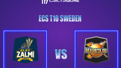 ALZ vs MAR Live Score,In theMatchof ECS T10 Sweden 2021which will be played at Norsborg Cricket Ground, Stockholm. ALZ vs MAR Live Score,Match between.....