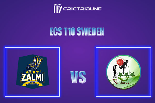 ALZ vs NAC Live Score,In theMatchof ECS T10 Sweden 2021which will be played at Norsborg Cricket Ground, Stockholm. ALZ vs NAC Live Score,Match between.....