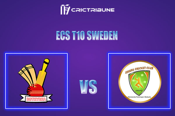 BOT vs PF Live Score,In theMatchof ECS T10 Sweden 2021which will be played at Norsborg Cricket Ground, Stockholm. BOT vs PF Live Score,Match between.......