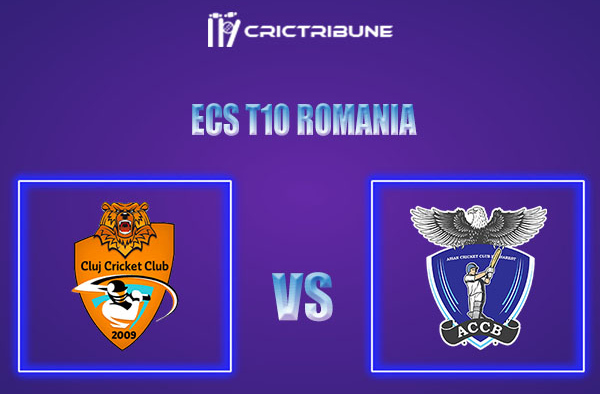 CLJ vs ACCB Live Score,In theMatchof ECS T10 Romania 2021which will be played at Moara Vlasiei Cricket Ground, Ilfov County. CLJ vs ACCB Live Score,Match..