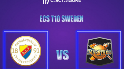 DIF vs MAR Live Score,In theMatchof ECS T10 Sweden 2021which will be played at Norsborg Cricket Ground, Stockholm. DIF vs MAR Live Score,Match between.....