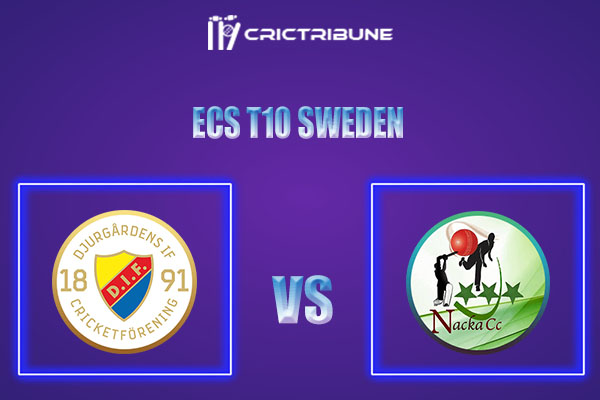 DIF vs NAC Live Score,In theMatchof ECS T10 Sweden 2021which will be played at Norsborg Cricket Ground, Stockholm. DIF vs NAC Live Score,Match between Djur