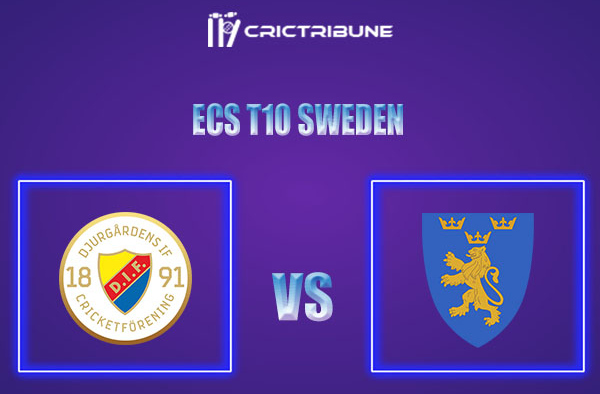DIF vs STO Live Score,In theMatchof ECS T10 Sweden 2021which will be played at Norsborg Cricket Ground, Stockholm. DIF vs STO Live Score,Match between.....