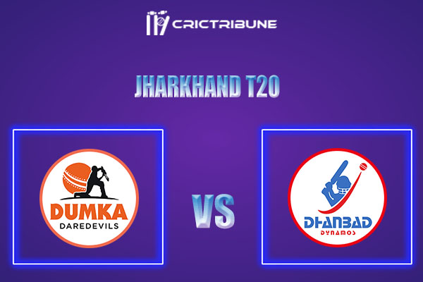DUM vs DHA Live Score,In theMatchof Jharkhand T20 2021which will be played at JSCA International Stadium Complex, Ranchi. DUM vs DHA Live Score,Match......