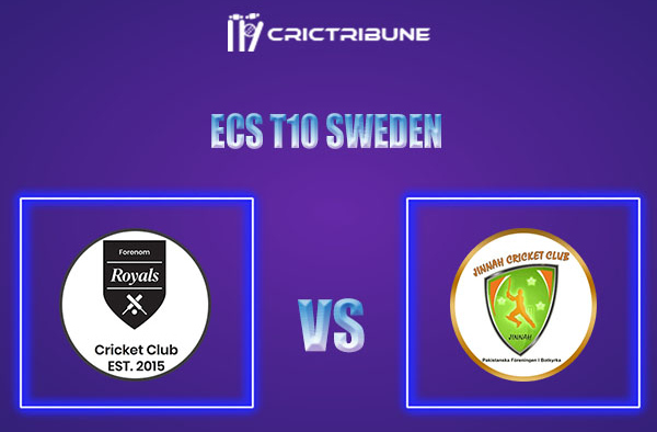 FOR vs PF Live Score,In theMatchof ECS T10 Sweden 2021which will be played at Norsborg Cricket Ground, Stockholm. FOR vs PF Live Score,Match between.......