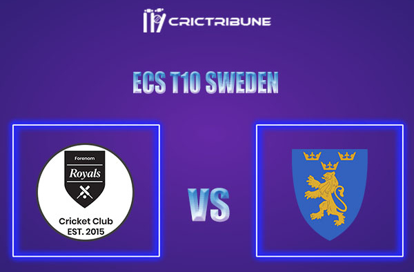 FOR vs STO Live Score,In theMatchof ECS T10 Sweden 2021which will be played at Norsborg Cricket Ground, Stockholm. FOR vs STO Live Score,Match between.....