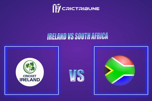 IRE vs SA Live Score,In theMatchof Ireland vs South Africa 2021which will be played at The Village, Malahide, Dublin.. IRE vs SA Live Score,Match between ..