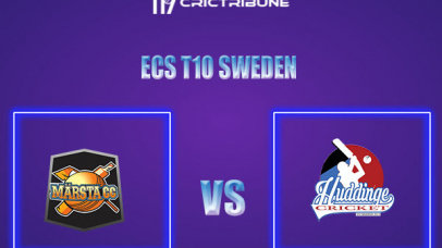 MAR vs HUD Live Score,In theMatchof ECS T10 Sweden 2021which will be played at Norsborg Cricket Ground, Stockholm. MAR vs HUD Live Score,Match between .....