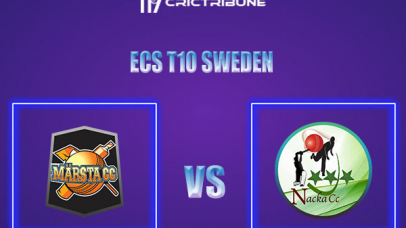 MAR vs NAC Live Score,In theMatchof ECS T10 Sweden 2021which will be played at Norsborg Cricket Ground, Stockholm. MAR vs NAC Live Score,Match between.....