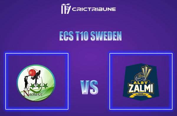 NAC vs ALZ Live Score,In theMatchof ECS T10 Sweden 2021which will be played at Norsborg Cricket Ground, Stockholm. NAC vs ALZ Live Score,Match between Nac.