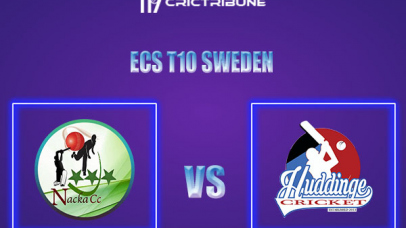 NAC vs HUD Live Score,In theMatchof ECS T10 Sweden 2021which will be played at Norsborg Cricket Ground, Stockholm. NAC vs HUD Live Score,Match between.....