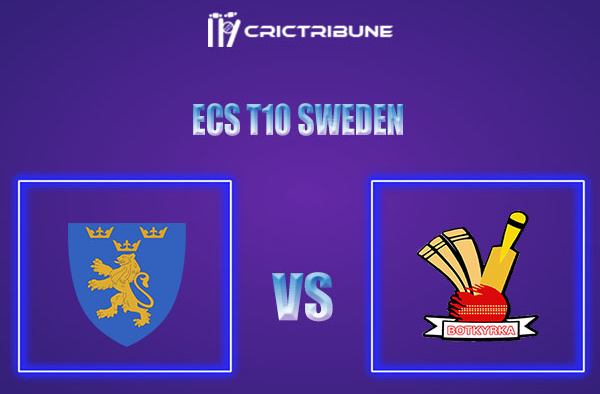 BOT vs STO Live Score,In theMatchof ECS T10 Sweden 2021which will be played at Norsborg Cricket Ground, Stockholm. BOT vs STO Live Score,Match between .....