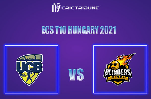 UCB vs BLB Live Score,In theMatchof ECS T10 Hungary 2021which will be played at GB Oval, Szodliget. UCB vs BLB Live Score,Match between United Csalad vs...