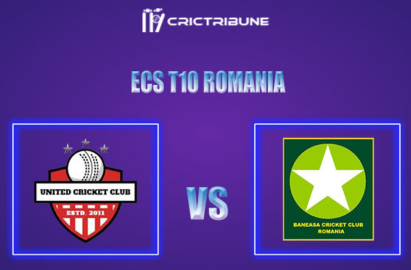 UNI vs BAN Live Score,In theMatchof ECS T10 Romania 2021which will be played at Moara Vlasiei Cricket Ground, Ilfov County. UNI vs BAN Live Score,Match....