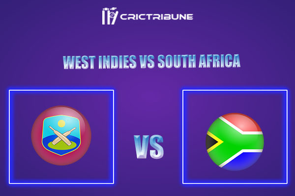 WI vs SA Live Score,In theMatchof West Indies vs South Africawhich will be played at National Cricket Stadium, Grenada. WI vs SA Live Score,Match between..