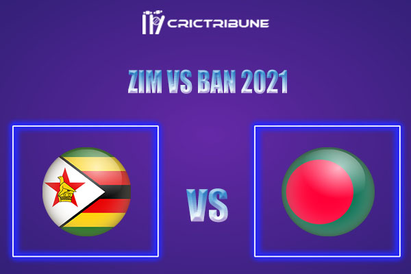 ZIM vs BAN Live Score,In theMatchof Zimbabwe vs Bangladesh 2021which will be played at Queens Sports Club, Bulawayo.. ZIM vs BAN Live Score,Match between..