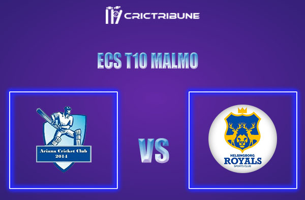 ARI vs HRO Live Score,In theMatchof ECS T10 Malmo 2021which will be played at Landskrona Cricket Club. ARI vs HRO Live Score,Match between Ariana CC vs....