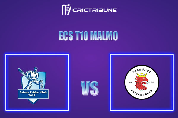 ARI vs MAM Live Score,In theMatchof ECS T10 Malmo 2021which will be played at Landskrona Cricket Club. ARI vs MAM Live Score,Match between Ariana..........