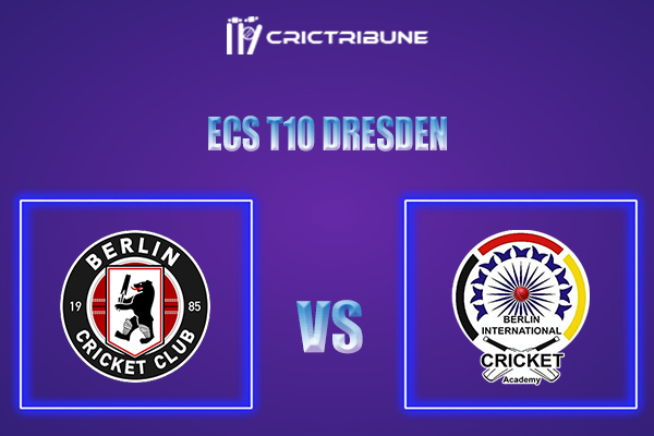 BER vs BICA Live Score,In theMatchof ECS T10 Dresden 2021which will be played at Rugby Cricket Dresden eV, Dresden. BER vs BICA Live Score,Match between...