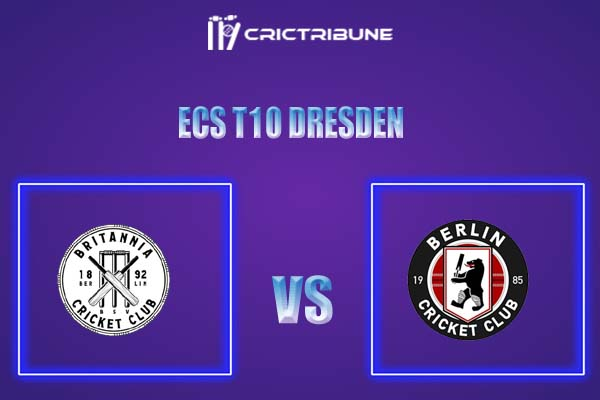 BER vs BRI Live Score,In theMatchof ECS T10 Dresden 2021which will be played at Rugby Cricket Dresden eV, Dresden. BER vs BRI Live Score,Match between.....