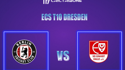 BER vs EIH Live Score,In theMatchof ECS T10 Dresden 2021which will be played at Rugby Cricket Dresden eV, Dresden. BER vs EIH Live Score,Match between .....