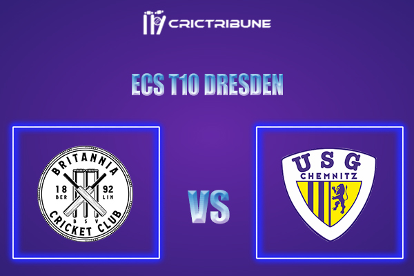 BRI vs USGC Live Score,In theMatchof ECS T10 Dresden 2021which will be played at Rugby Cricket Dresden eV, Dresden. BRI vs USGC Live Score,Match between...