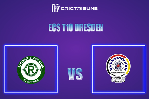 BSCR vs BICA Live Score,In theMatchof ECS T10 Dresden 2021which will be played at Rugby Cricket Dresden eV, Dresden. BSCR vs BICA Live Score,Match between .