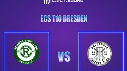 BSCR vs BRI Live Score,In theMatchof ECS T10 Dresden 2021which will be played at Rugby Cricket Dresden eV, Dresden. BSCR vs BRI Live Score,Match between...