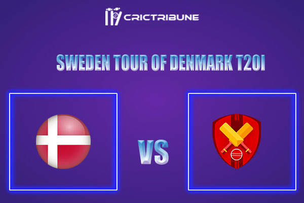 DEN vs SWE Live Score,In theMatchof Sweden tour of Denmark T20Iwhich will be played at Svanholm Park, Brondbyd. DEN vs SWE Live Score,Match between Denmark