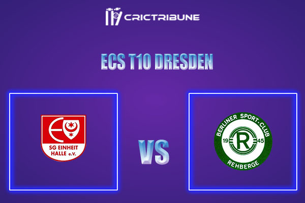 EIH vs BSCR Live Score,In theMatchof ECS T10 Dresden 2021which will be played at Rugby Cricket Dresden eV, Dresden. EIH vs BSCR Live Score,Match between SG