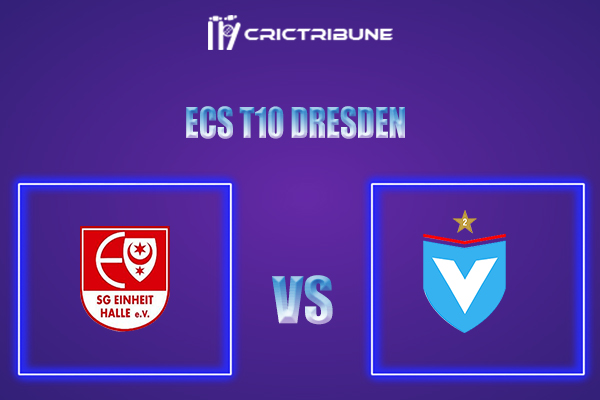 EIH vs VIK Live Score,In theMatchof ECS T10 Dresden 2021which will be played at Rugby Cricket Dresden eV, Dresden. EIH vs VIK Live Score,Match betweenSG ..