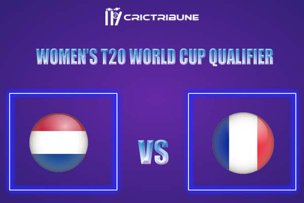 FR-W vs ND-W Live Score,In theMatchof Women's T20 World Cup Qualifier,which will be played at La Manga Club, Cartagenan. FR-W vs ND-W Live Score,Match.....