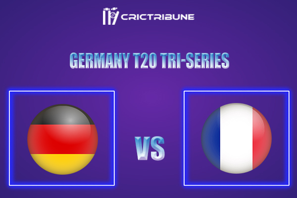 GER vs FRA Live Score,In theMatchof Germany T20 Tri-Serieswhich will be played at Bayer Uerdingen Cricket Ground, Krefeld. GER vs FRA Live Score,Match.....