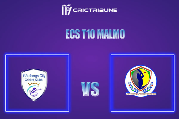 GOC vs JKP Live Score,In theMatchof ECS T10 Malmowhich will be played at Landskrona Cricket Club. GOC vs JKP Live Score,Match Goteborg City v Jonkoping,...
