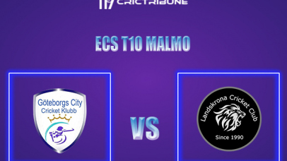 GOC vs LAN Live Score,In theMatchof ECS T10 Malmo 2021which will be played at Landskrona Cricket Club. GOC vs LAN Live Score,Match between Goteborg........