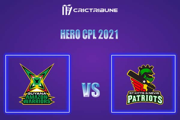 SKN vs GUY Live Score,In theMatchof Hero CPL,which will be played at Warner Park, Basseterre, St Kitts. SKN vs GUY Live Score,Match between Guyana Amazon..