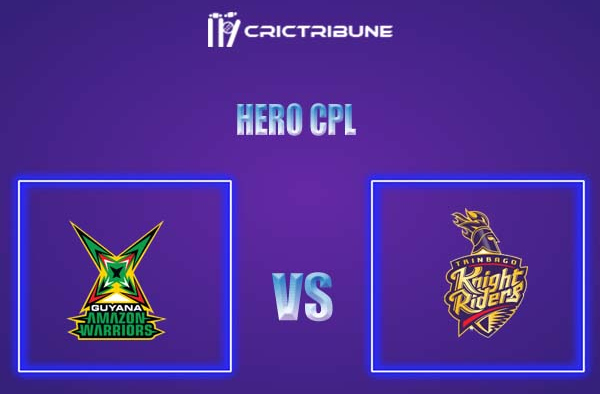 GUY vs TKR Live Score,In theMatchof Hero CPL,which will be played at Warner Park, Basseterre, St Kitts. GUY vs TKR Live Score,Match between Guyana Amazon ..